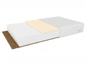 Antialergický kokosový matrac s latexom 200x80x11 Pikolino