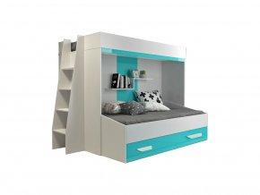 Multifunkčná poschodová posteľ Party 17 - viac farieb