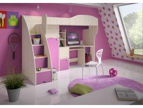 Multifunkčná poschodová posteľ Bara
