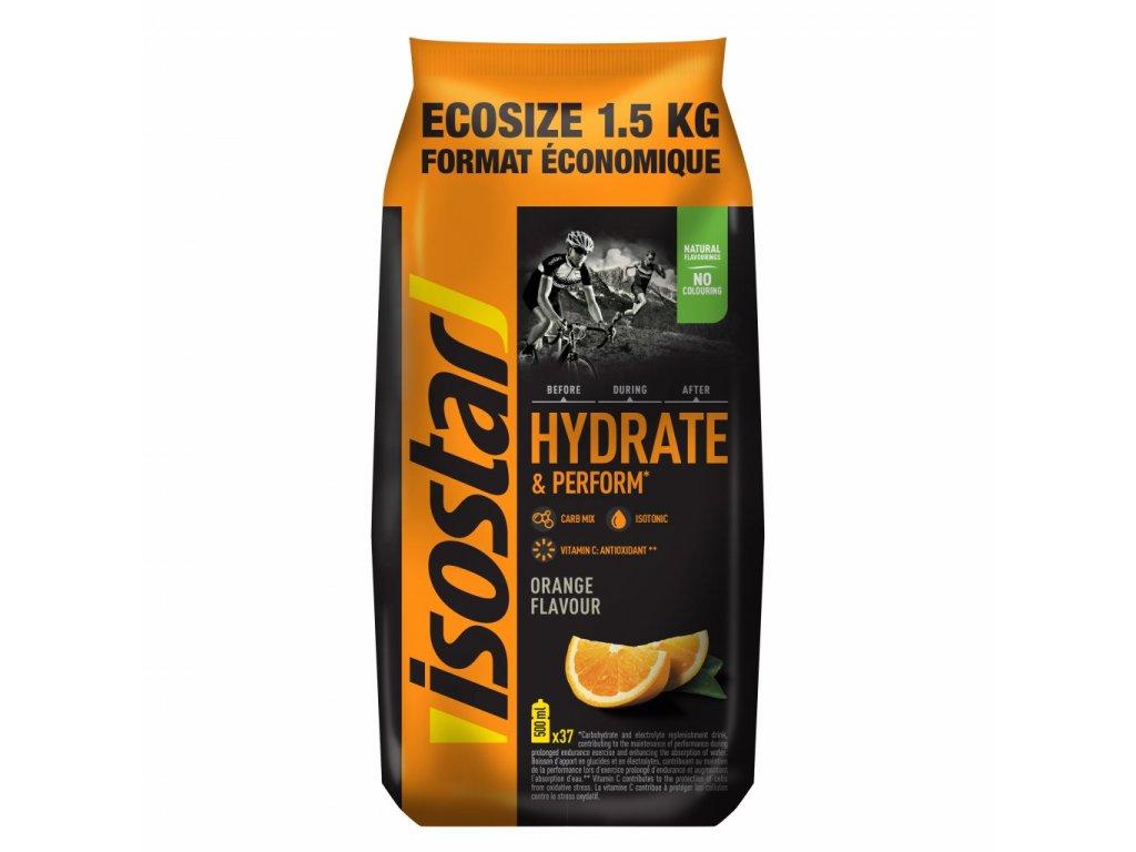 Isostar Hydratate & perform powder 1500g, pomeranč