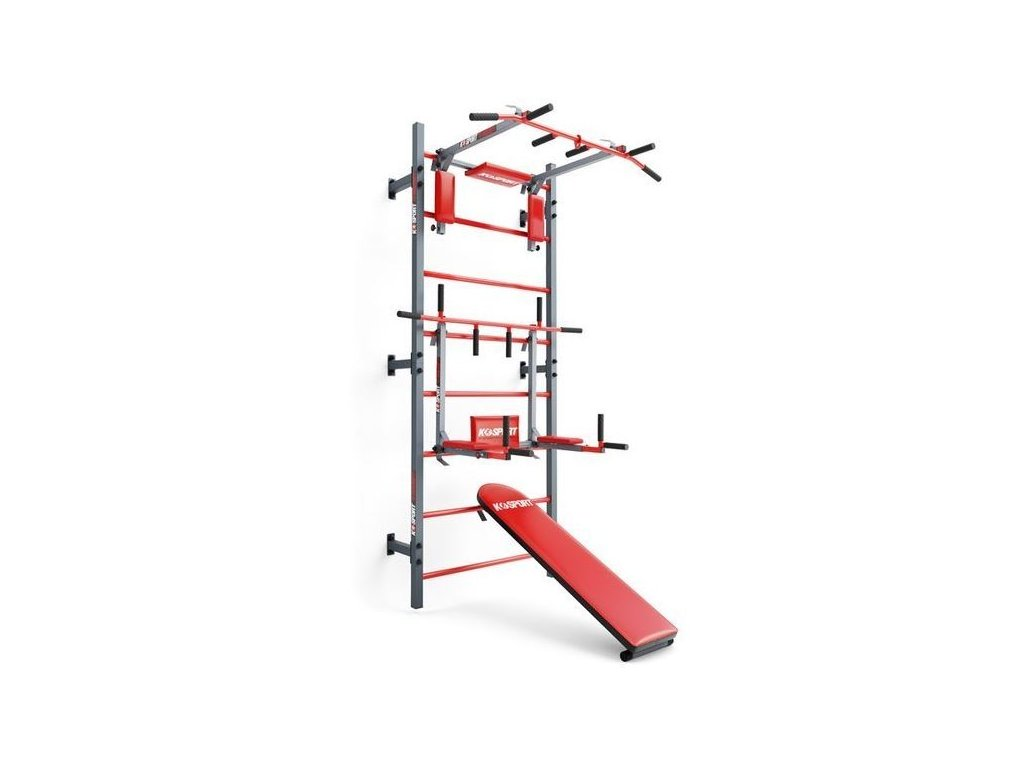 Multifunkční posilovací sestava na cvičení