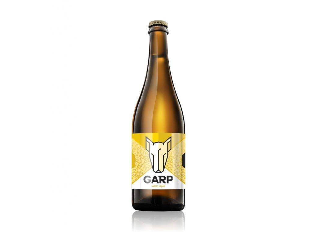 GARP 120 - Světlý ležák - 0,75 l  řemeslné pivo