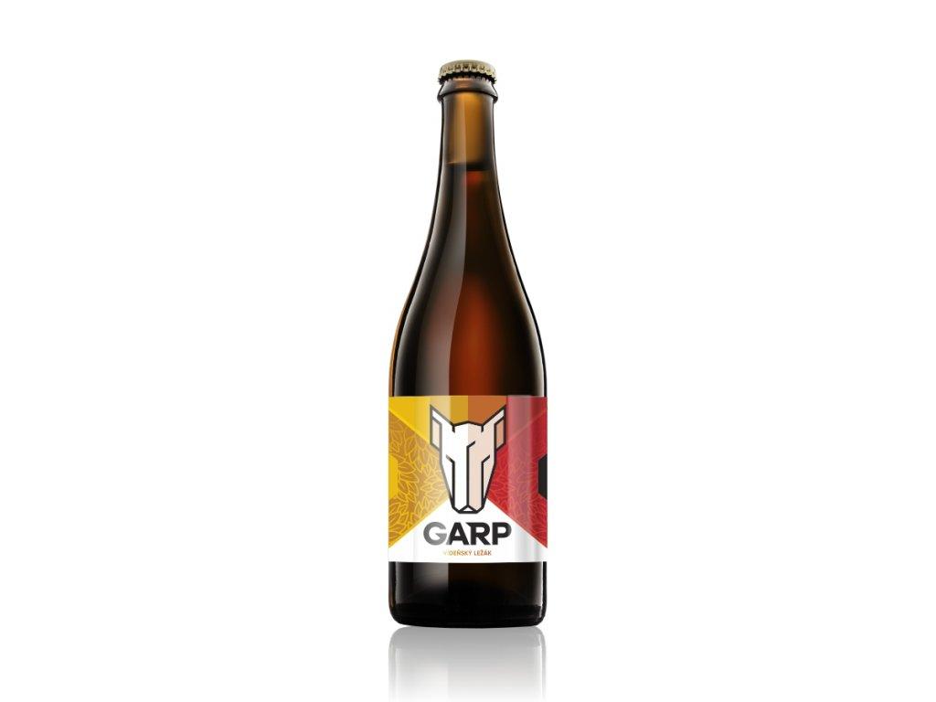 GARP 240 - Vídeňský Ležák - 0,75  řemeslné pivo