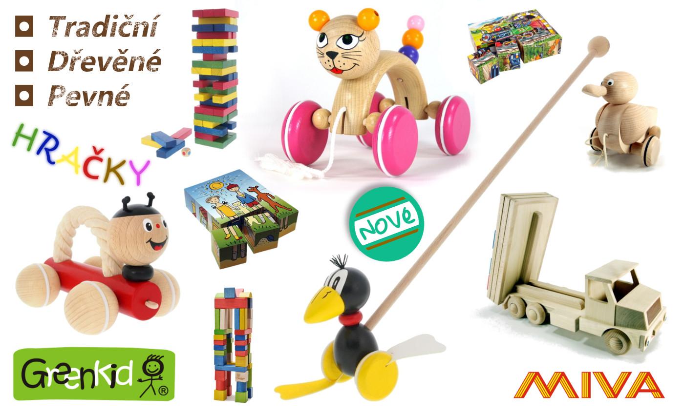 Dřevěné hračky Greenkid, Miva