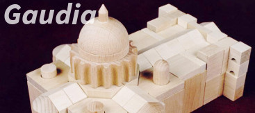 Dřevěné stavebnice Gaudia