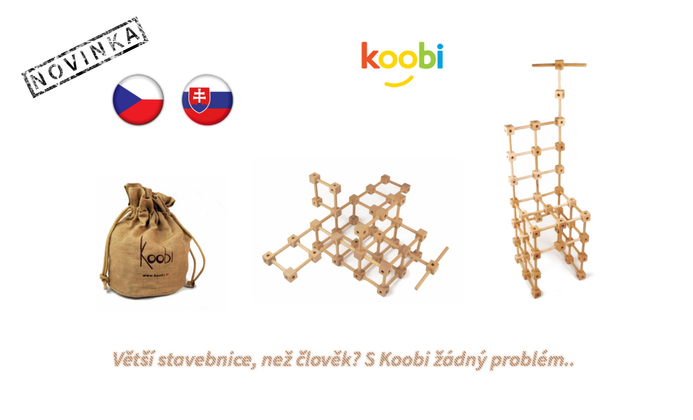 Dřevěné stavebnice Koobi