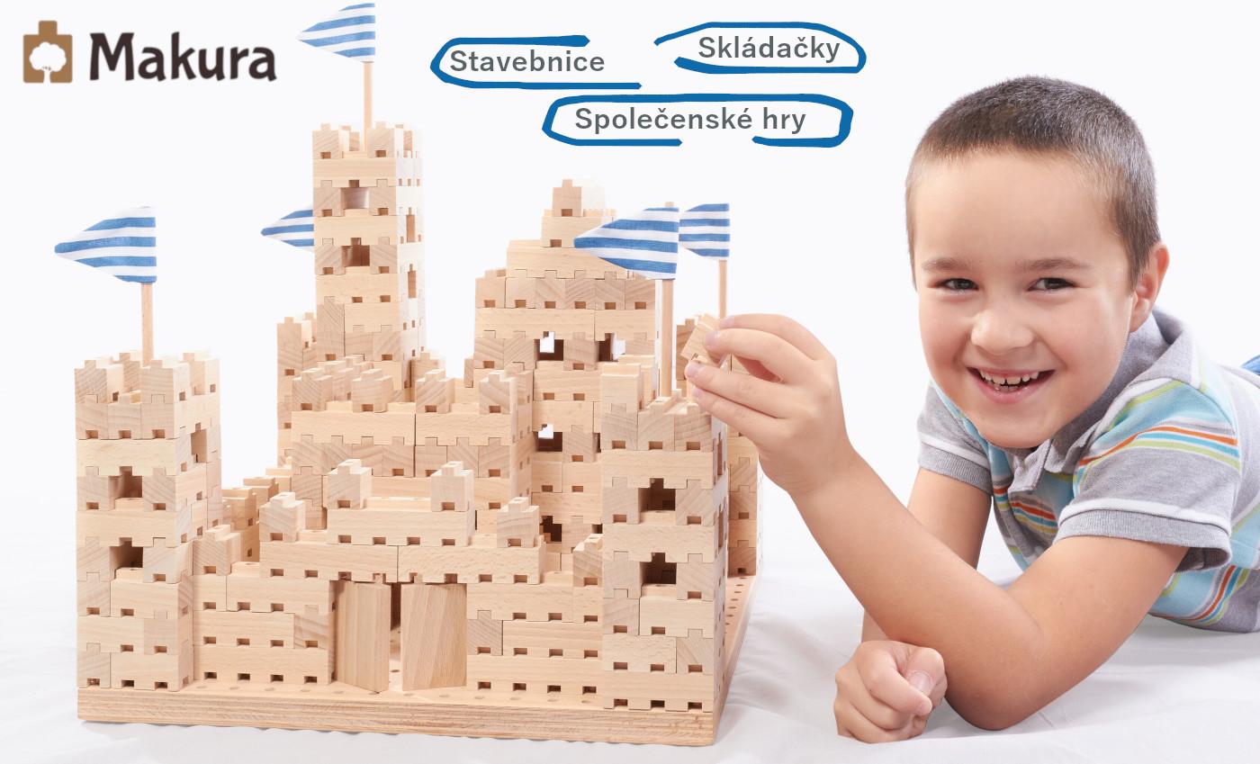Makura - dřevěné hračky