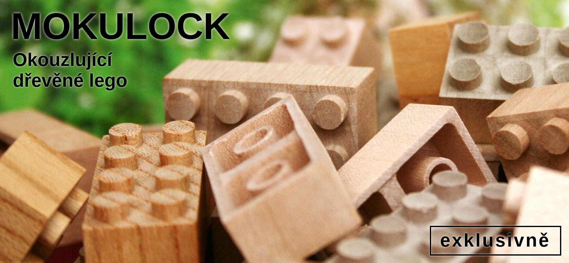 Dřevěné lego Mokulock