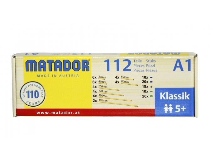 MATADOR Klassik A1 - Osky, disky, upínače