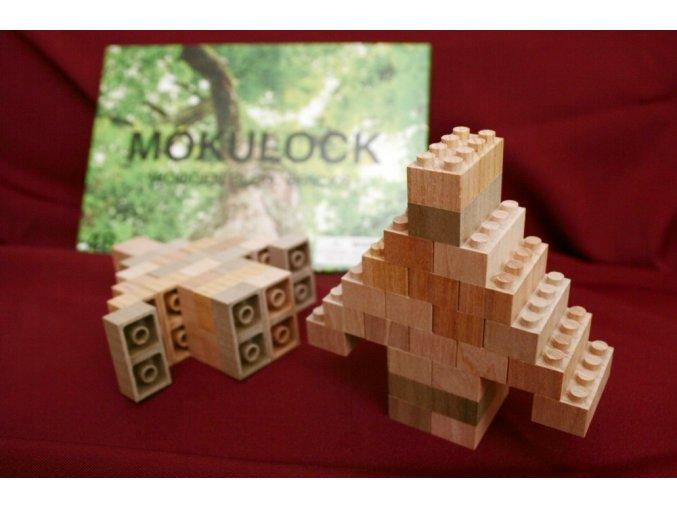 Dřevěné lego Mokulock 48