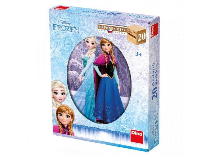 Obrázkové kostky - Frozen 20ks