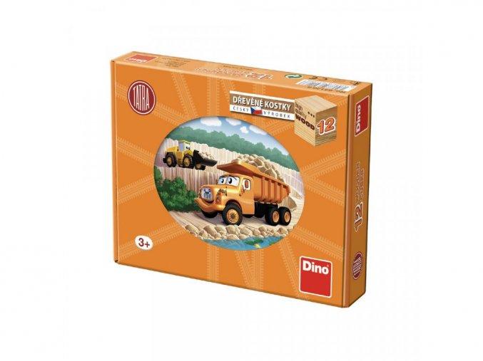 Obrázkové kostky - Tatra 12ks