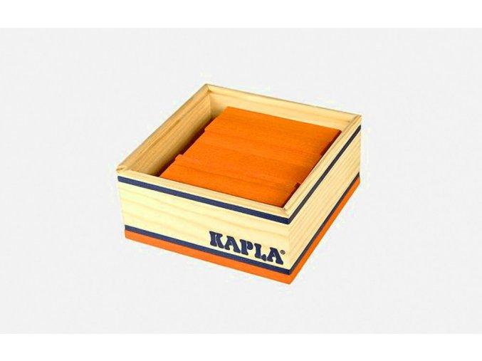 Kapla 40 MonoColor oranžová