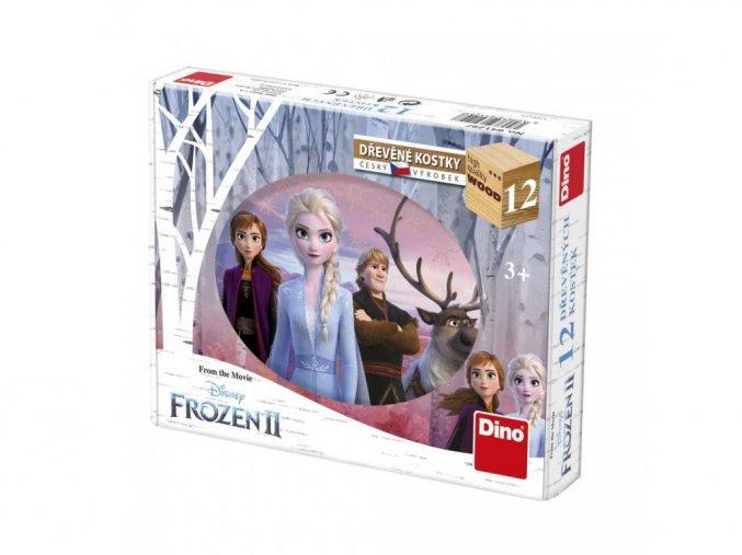 Obrázkové kostky - Frozen II 12ks