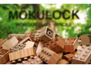 Dřevěné lego Mokulock DOUBLE