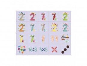 Obrázkové kostky - Mašinka 12ks