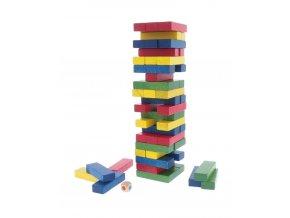 Hra - věž barevná