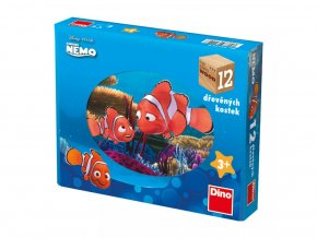 Obrázkové kostky - Nemo 12ks