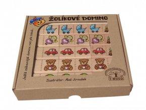Žolíkové domino - hračky