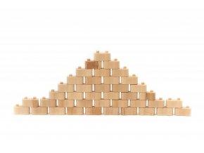 Dřevěná stavebnice Godi 40 dílů