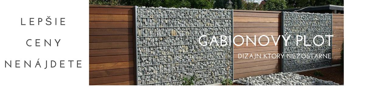 Gabionový plot za najlepšiu cenu na trhu | PostavPLOT.SK