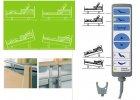 Linet Estetica Nova - Elektrické polohovatelné lůžko pro pečovatelskou péči