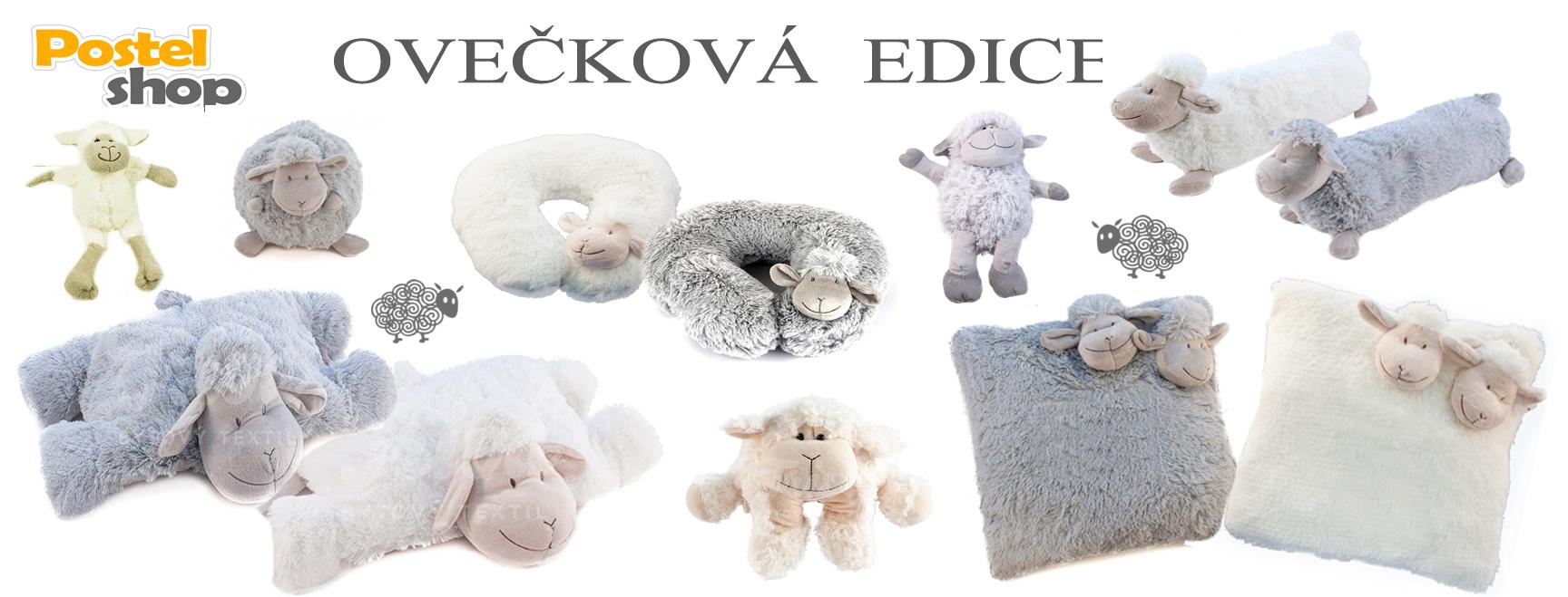polštářky ovečka