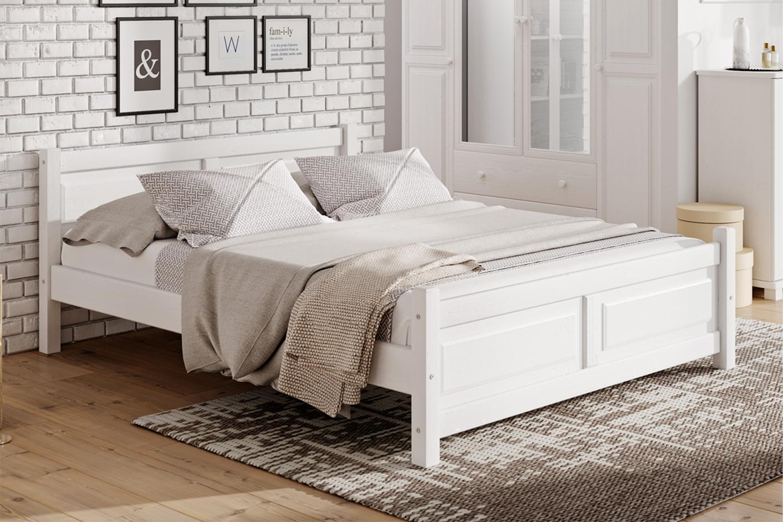 Skandinávské masivní postele