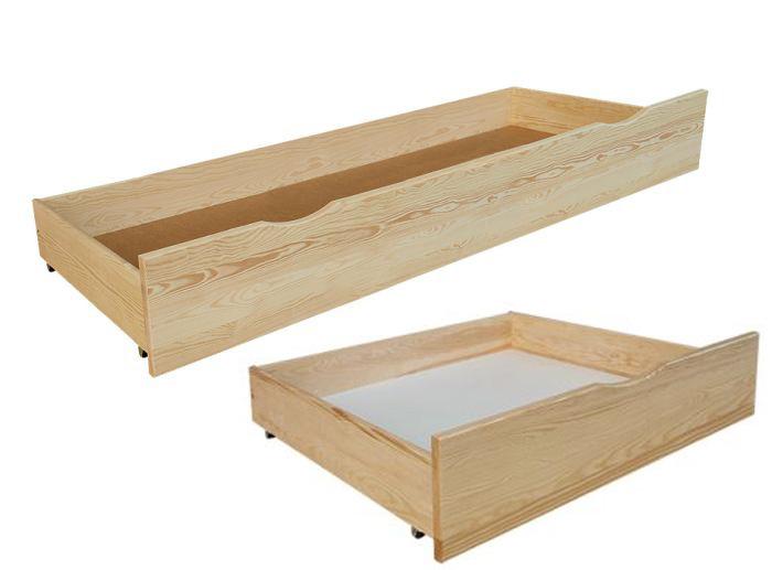 Úložné prostory k postelím