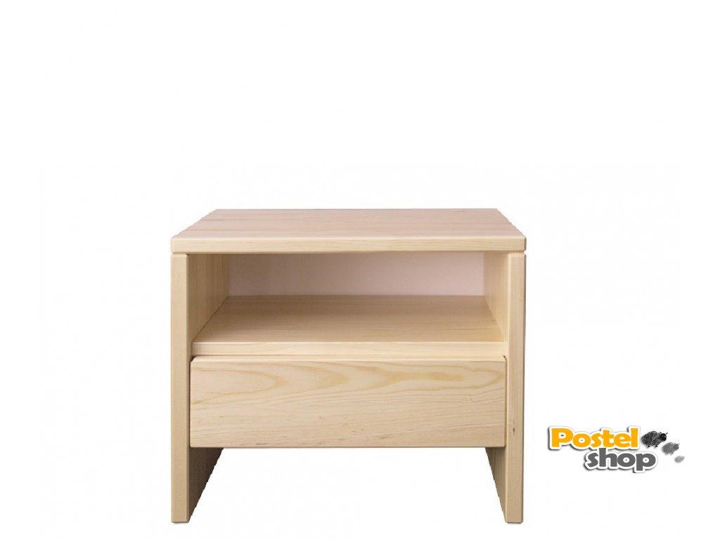 Noční stolek NS 121 borovice