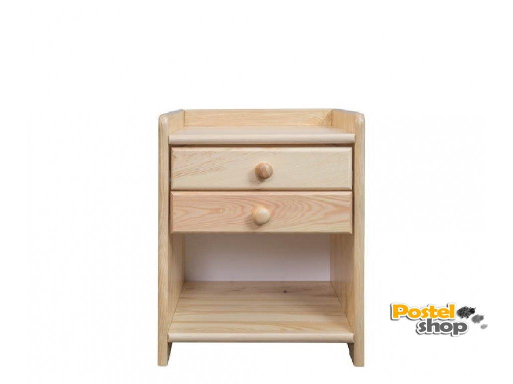 Noční stolek NS 106 borovice