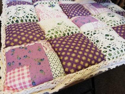 sedák provence fialový