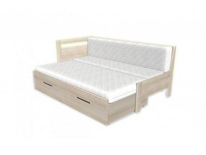 matrace do rozkládací postele double 3 díly