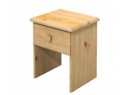 Noční stolek Radka se zásuvkou borovice