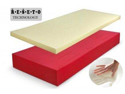 matrace visco řešeto soft