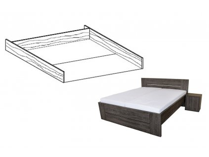 úložný prostor k posteli lorano