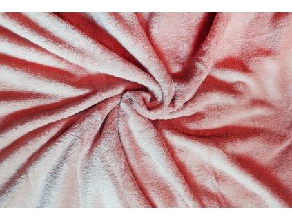 deka mikrovlákno lososová 1