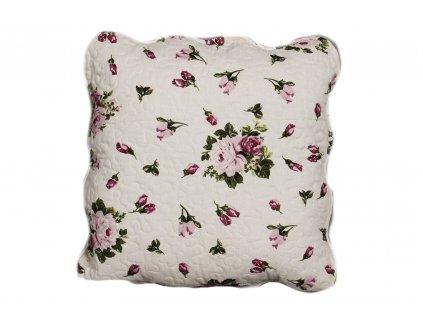 polštář provence s růžičkama