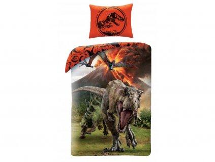 povlečení jurský svět dinosauři