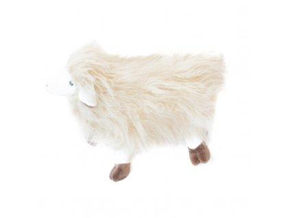 Plyšová ovce s dlouhou srstí