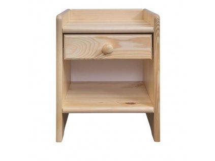 noční stolek masivní borovice sn 17