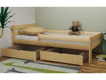 dětská postel M9 mořená