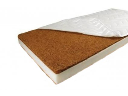 Dětská matrace do postýlky COCOLINO PUR pěna +kokosová vrstva