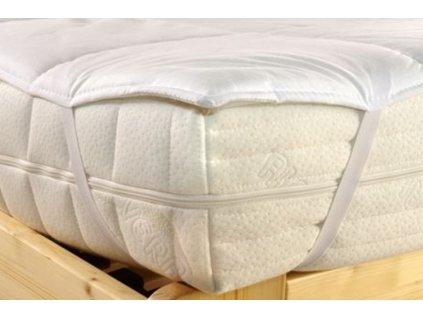 matracový chránič z dutého vlákna prošívaný