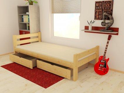 dětská postel Dominik borovice masiv rozměry