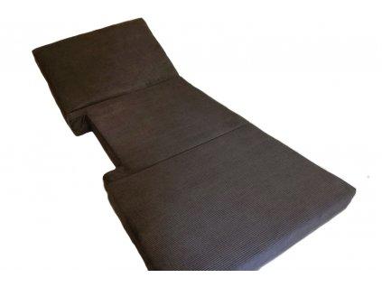 skádací matrace do auta na přední sedačky dodávky 3 dílná