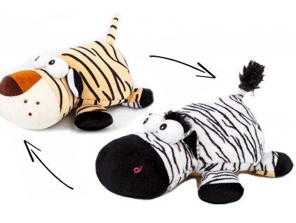 magický plyšák zebra tygr