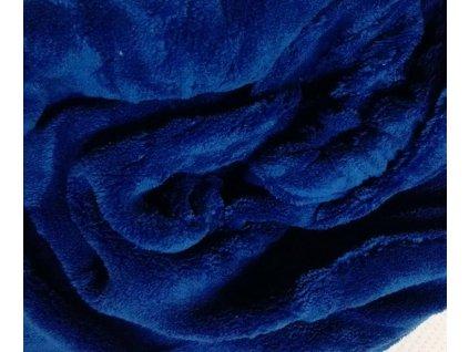 Prostěradlo mikroflanel microdream Apex tmavě modré 90x200cm