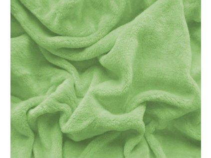 prostěradlo mikroplyš zelená