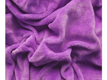 prostěradlo mikroplyš světle fialová
